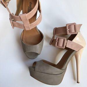 Women's size 7 high heel shoes